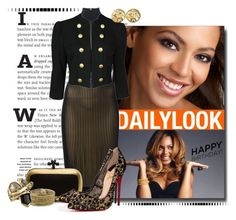 """""""Beyonce - Golden Girl"""" by msmith801 ❤ liked on Polyvore featuring Bottega Veneta, Christian Louboutin, Forever 21, Chanel, Zad, Alexis Bittar and happybirthdaybeyonce"""