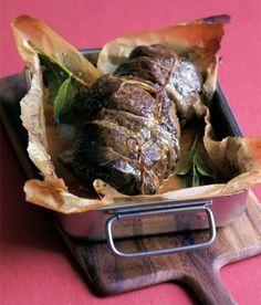 Kančí kýta se šípkovou omáčkou - ApetitOnline.cz Ham, Steak, Food And Drink, Recipes, Rezepte, Food Recipes, Hams, Recipies, Steaks