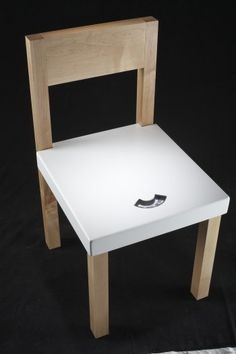 Scale Chair by #CCArts Alum Nicholas Riddle
