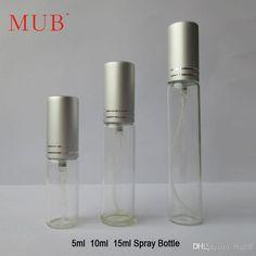 Wholesale 15ml Jar - Buy Pump Sprayer Bottle 15 Ml Empty Glass Perfume Bottles Atomizer Perfume Empty Cosmetic Jars With $0.96 | DHgate