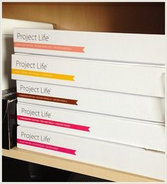 Project Life Norge: Oppbevaring hos Linda S