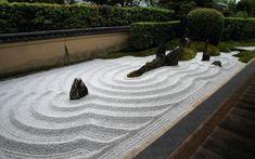 Daitoku-ji Zuiho-in Karesansui 1961, designed by Mirei Shigemori (1896-1975)
