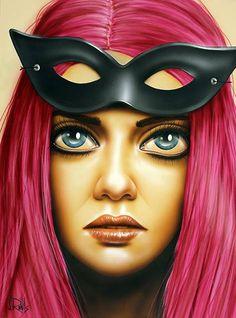 """Unmasked"" by Scott Rohlfs - mask"