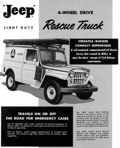 Jeep History in Ads