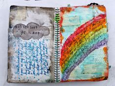 Artsy Lynn: Lots of art journaling and an altered canvas