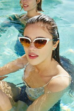 Coolgirl Catmaster Sunglasses - Urban Outfitters Retro Sunglasses,  Sunglasses 2014, Beach Sunglasses, Sports f7fcebb70a10