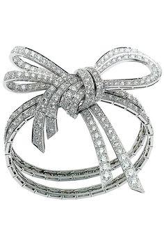 Van Cleef & Arpels bracelet, vancleefarpels.com.   - HarpersBAZAAR.com