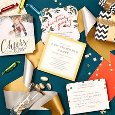 We're here to help you get ahead of the game (or at least try!) with our new collection of holiday cards, invites and thank you cards on @tinyprints!