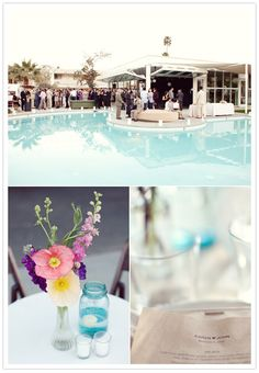 Palm Springs Ace hotel wedding. What a dream