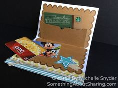 Click here for instructions to make cute gift card holders. CTMH Artiste Cricut Cartridge includes a super easy gift card holder die-cut. Love it. Now my gift cards will arrive in sun personalized cards, too.  http://somethingaboutsharing.com/simply-inspired-blog-hop-skylark-collection/  #SomethingAboutSharing.com #CTMHCricut