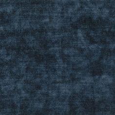 glenville - indigo fabric | Desigenrs Guild Essentials