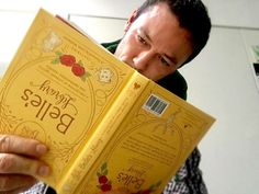 """""""Gaston doesn't read. Ever. But for every #shelife Disney will still donate a book to a child in need. #MagicOfStoryTelling"""" (Luke Evans)."""