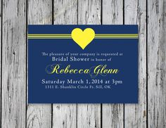 Curvy Bridal Shower Invitation / DIY Printing by RejoiceGraphics