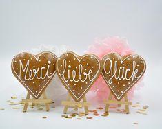 Lebkuchen Herz Place Cards, Place Card Holders, Baking Soda, Ginger Beard, Honey, Heart