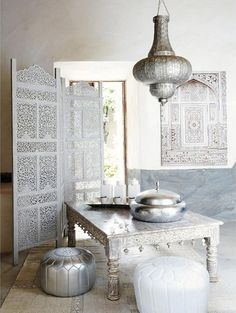 Décorations Tables Marocaines