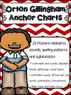23 Posters related to sounds, spelling patterns and syllabication. * consonants and vowels, digraphs, blends, diphthongs, vowel teams, r-controlled vowels, affixes and root words, contractions, homophones, syllable types, synonyms, antonyms, compound words, morphemes, singular, plural.Long vowel family posters.Available in black and white to print on color paper and in color.