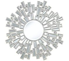 "Massena Openwork 34"" Round Sunburst Wall Mirror | 55DowningStreet.com 34"" ROUND / SALE-$299.95"