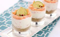Cheesecake al salmone lime e pepe rosa, ricetta
