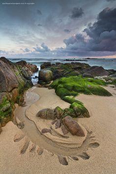 Beautiful coastline, Vila do Conde, Portugal