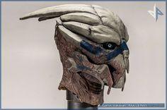 Mass Effect Garrus Shepard Maske