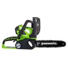 Greenworks ' 40 Volt ' Cordless~Chainsaw ( charger & battery separately) for Sale in Bristol, RI - OfferUp Best Chainsaw, Chainsaw Bars, Chainsaw Carvings, Battery Powered Chainsaw, Chainsaw Reviews, Chainsaw Sharpener, Chainsaws For Sale, Cordless Chainsaw, Garden Power Tools