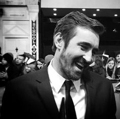 #LeePace on the green carpet at the world premiere of The Hobbit: The Battle of the Five Armies at London's Leicester Square, Dec. 1 2014. With Aiden Turner.