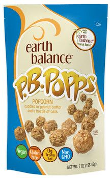 The Earth Balance P.B. Poppers are my new F-A-V-O-R-I-T-E snack! Click here to learn why? - www.GoddessGreen.net