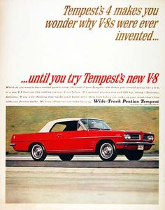 1963 Pontiac Tempest Ad