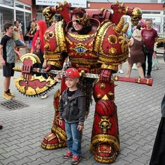 Chaos Space Marine cosplay