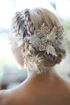 Beautiful hair decoration