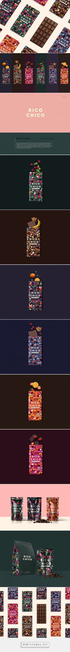 Rico Chico Chocolate Packaging by Meroo Seth | Fivestar Branding Agency – Design and Branding Agency & Curated Inspiration Gallery #chocolate #chocolatepackaging #packaging #packaginginspiration #packagedesign #package #design #designinspiration