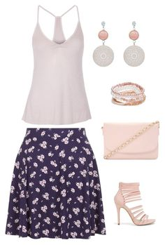 """Untitled #815"" by netteskytte ❤ liked on Polyvore featuring Enza Costa, New Look, Forever 21 and Red Camel"