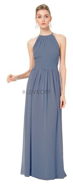 7a67973a919  LEVKOFF - Bill Levkoff Bridesmaid Dress Style 7044 - Chiffon