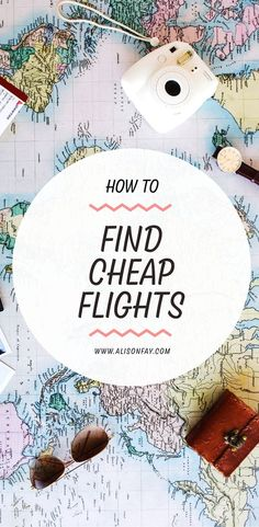 Learn how to find cheap flights with this free travel guide #travelhacks #travel