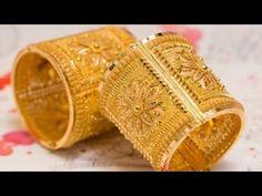 Gold Chain Design, Gold Bangles Design, Gold Jewellery Design, Gold Wedding Jewelry, Gold Jewelry Simple, Stylish Jewelry, Gold Kangan, Ruby Necklace Designs, Banarasi Sarees