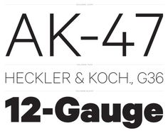 Ditch Helvetica, try these 5 contemporary sans serif typefaces - The Fox Is Black