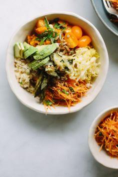 Spring salad bowls | My Darling Lemon Thyme