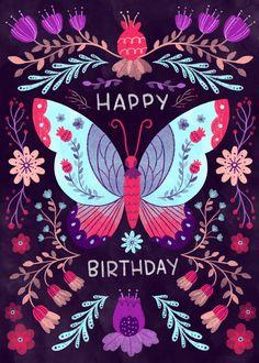 Leading Illustration & Publishing Agency based in London, New York & Marbella. Happy Birthday Ginger, Happy Birthday Doodles, Birthday Wishes Gif, Birthday Cheers, Happy Birthday Messages, Happy Birthday Quotes, Happy Birthday Images, Happy Birthday Greetings, Birthday Memes