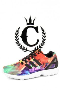 Womens ZX Flux Multicoloured Zx Flux Black 38cb53c6f