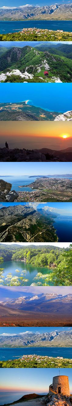 Croatia has both gorgeous coastlines and impressive interior mountains. If you're into nature and hiking you'll find this post useful: http://bbqboy.net/croatias-10-best-hikes/  #croatia #hikes #hiking