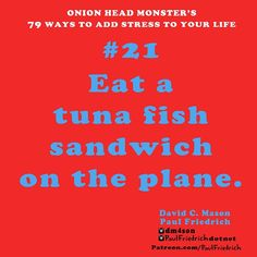 #21 has 100% results every time! #tuna #fish sandwiches pretty much rule for adding #stress to you life anywhere you eat them!