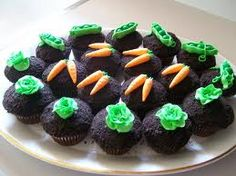 garden party cupcakes - Google Search