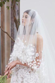 Tendance Robe du mariée 2017/2018 Oscar de la Renta Wedding Dress