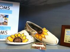 Customized Toms by VictoryBell on Etsy