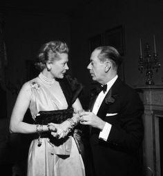 Princess Natasha Paley and Cole Porter, 1952