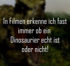 Ist der Dinosaurier echt?