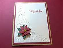 handmade poinsettia christmas cards - Yahoo Image Search Results