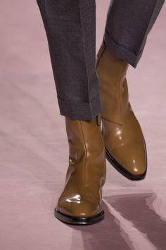 Suit Shoes, Men's Shoes, Gentleman Shoes, Haider Ackermann, Men's Accessories, Fall 2018, Riding Boots, Chelsea Boots, Booty