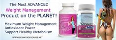 With all the incredible benefits of Skinny Fiber, PLUS some of the most powerful ingredients discovered in the last few years, Skinny Body MAX is a super-enhanced version of Skinny Fiber and represents the cutting edge of science, with the most advanced weight management product EVER