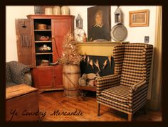 My Living room!!  Ye country mercantile